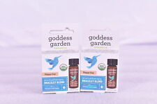 LOT OF 2 Goddess Garden Happy Day Aromatherapy Bracelet Blend, 0.125 fl oz
