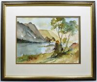 Original Lake District Watercolour Painting Harry Wakelin Listed Artist