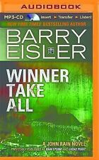 John Rain: Winner Take All 3 by Barry Eisler (2014, MP3 CD, Unabridged)