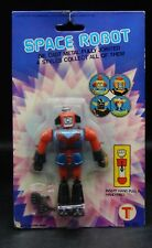 1980s vintage SPACE ROBOT action figure MOC Hong Kong SEALED diecast chogokin !!