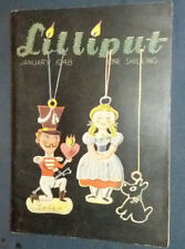 """Revue anglaise """"Lilliput"""" January 1948 Vintage photos, gags, illustrations ..."""