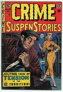 Crime Suspenstories #25 (EC, Nov '54) Vintage Pre-Code Crime ComicBook