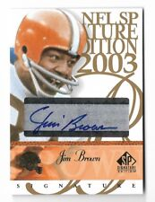 JIM BROWN 03 UD SP SIGNATURE AUTO AUTOGRAPH CARD!!