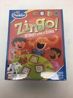 ThinkFun Bingo with a Zing Board Game (97700) New Sealed