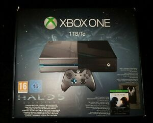Xbox One Halo Edition - Halo 5 Guardians Konsole - 1TB - OVP -TOP Zustand!