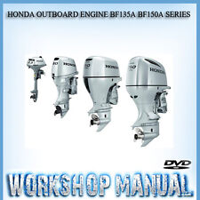 HONDA OUTBOARD ENGINE BF135A BF150A SERIES WORKSHOP SERVICE REPAIR MANUAL DISC