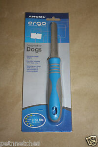 ANCOL ERGO GROOMING NAIL FILE FOR DOGS NEW!!!