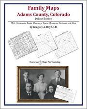 Family Maps Adams County Colorado Genealogy CO Plat