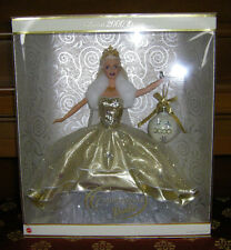 Beautiful 2000 Holiday Celebration Special Edition Barbie Doll NRFB #1 in Series