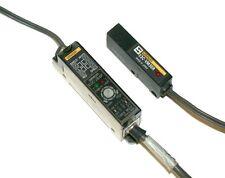 OMRON FIBER OPTIC AMPLIFIER AND CABLE ASSEMBLY MODEL  E3C-JB4P    E3C-VM35R