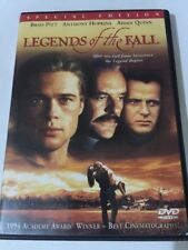 Legends of the Fall (DVD, 2000, Special Edition) Brad Pitt Anthony Hopkins