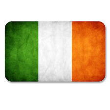 2 x 10cm Irish Flag Vinyl Stickers Decal Ireland Laptop Car Bike Helmet #6185