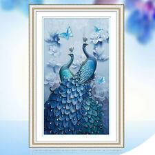 5D Diamond Peacock Embroidery Painting DIY Mosaic Cross Stitch Craft Home Decor