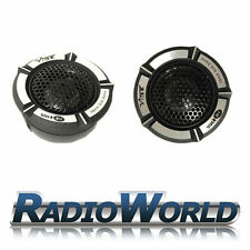 "Vibe Blackair BA1 V1 1"" Car Component Silk Dome Tweeters 180w with crossover"
