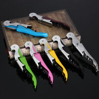 Multifunctional Stainless Steel Knife Corkscrew Wine Key Bear Bottle Cap  !