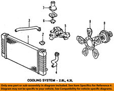 GM OEM-Radiator Cooling Fan Blade 15976889