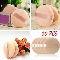 10Pcs Facial Beauty Sponge Powder Puff Pads Face Foundation Cosmetic Tools