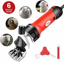 TOLYS 380W Electric Sheep Shears Portable Sheep Clippers with 6 SpeedElectric...
