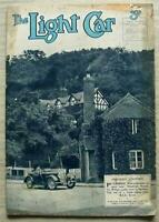 The LIGHT CAR MAGAZINE 10 Sep 1937 DKW Riley MG Morgan DONINGTON TT