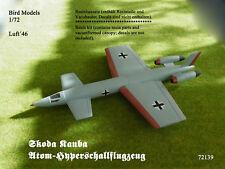 Skoda Kauba Atom-hypersoniques avion 1/72 Bird Models Resinbausatz/resin kit
