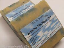 Handmade Jasmine Silk Wash Bar / Soap