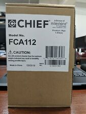 Chief Legrand Fusion Fca112 Mounting Adapter for Cpu, Media Player - New