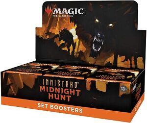 MTG Innistrad: Midnight Hunt Set Booster MID MTG - Preorder - Ships  - 09/24