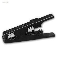 Abisolierwerkzeug Abmantelwerkzeug Kabelabmantelung 3,2 bis 9,5 mm - 22 AWG