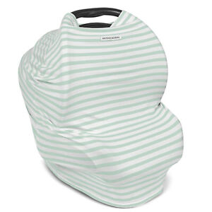 Sharper Image Antimicrobial Baby Carrier Canopy Cover Multi Use Nursing Cover