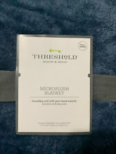 threshold microplush Full/ Queen blanket