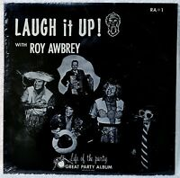 Roy Awbrey Laugh It Up with Party Album Novelty Comedy SEALED LP Vinyl Accordion