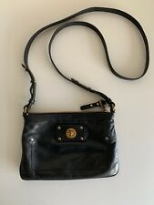 Marc by Marc Jacobs Black Small Crossbody Leather Bag