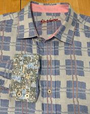 Robert Graham Plaid Flip Cuff Long Sleeve Button Front! 2xl Xxl