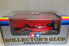 Ferrari 643 F1 1991 J. Alesi 1:20 Tamiya Collectors Club NEW in Box !! Rare!!