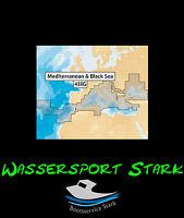 Navionics+ MicroSD-Karte mit SD-Adapter – 43XG - Mediterranean & Black Sea