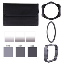 ND2 ND4 ND8 + Gradual ND2 ND4 ND8 filter + 77mm ring Adapter for Cokin p series