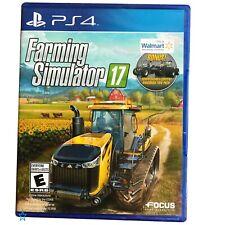 Play Station 4 Farming Simulator 17  PS4 sealed Brand New Game w Bonus