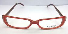 NEW GLASSES UNISEX  GUESS OCCHIALI DA VISTA GU1390 RDBRN 2012 -30% UNISEX