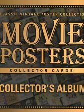 Classic Vintage Movie Posters 1 Empty Collector Card Album
