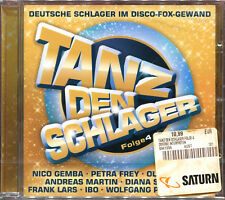 TANZ DEN SCHLAGER FOLGE 4 - CD COMPILATION NEW AND SEALED
