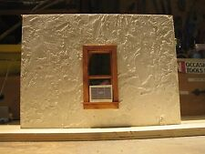 1/18 SCALE - Complete Window w/Air Conditioner for your shop/garage/diorama