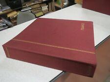 ALBUM CLASSEUR TIMBRE VIDE SCHAUBEK FRANCE 1849-1971