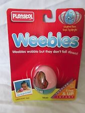 New Vintage Playskool Weebles Toy 5201/5241 Caucasian Mom 1995 Hasbro