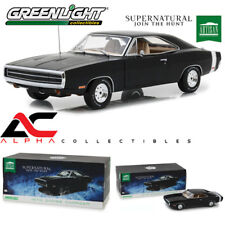 GREENLIGHT 19046 1:18 1970 DODGE CHARGER SUPERNATURAL BLACK