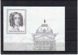 BELGIUM 2001 QUEEN LOUISA MARIA M/S mnh** blok 88