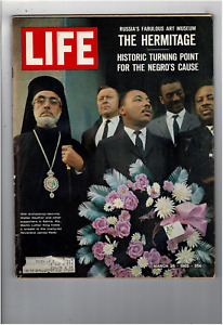 Mar 26 1965 Life Magazine Martin Luther King Russian Art Museum Hermitage L1294