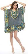 Women African Dashiki Shirt Party Dress Kaftan Boho Hippe Gypsy Festival Tops