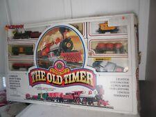 Vintage Bachmann HO Scale Electric Train Set The Old Timer ORIGINAL BOX