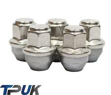 FORD TRANSIT MK8 CUSTOM SET OF 5 WHEEL NUTS STAINLESS STEEL CAP 2012 ON M14X1.5