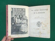 DUNCAN - THE SIMPLE ADVENTURES OF A MEMSAHIB Chatto & Windus London (1893) Libro